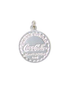 Coca-Cola Bottle Cap Silver Charm