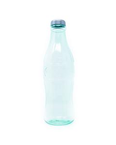 """Coca-Cola Green Contour Bottle Coin Bank - 11"""""""
