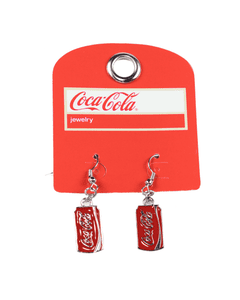 Coca-Cola Can Earrings