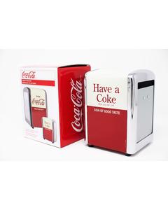 Coca-Cola Drink Short Napkin Dispenser