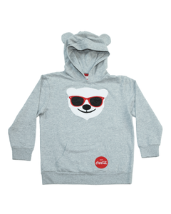 Coca-Cola Youth Polar Bear Hoodie