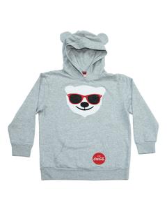 Coca-Cola Youth Polar Bear Hoodie