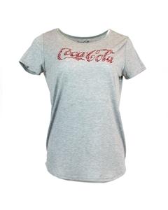 Coca-Cola Script Scoop Stones Women's Tee