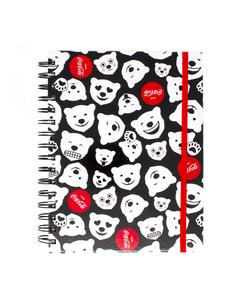 Coca-Cola Polar Bear Emoji Notebook