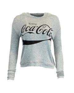 Coca-Cola Script Women's Sweater Hoodie