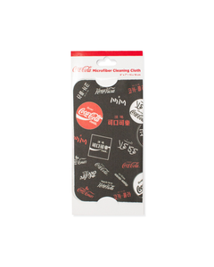 Coca-Cola Languages Cleaning Cloth