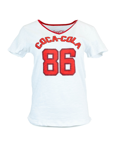 Coca-Cola '86 Women's Ringer Tee