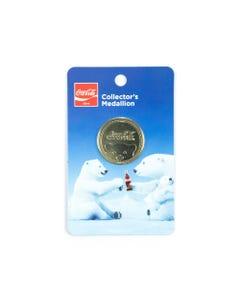Coca-Cola Polar Bear Gold Medallion