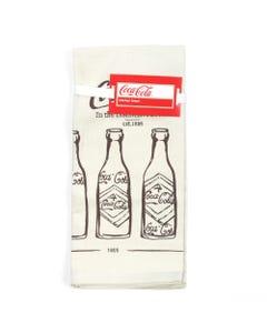 Coca-Cola Bottle Evolution Towels - Set of 2