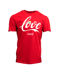 Coca-Cola Pride Love Unisex Tee