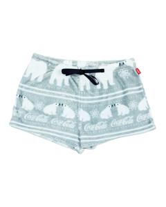Coca-Cola Polar Bear Women's Minky Shorts