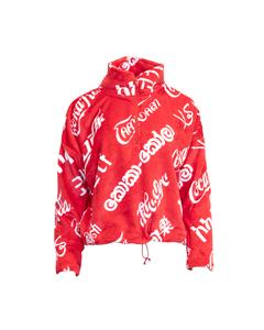 Coca-Cola Languages Women's 1/2 Zip Minky Fleece