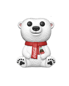 "Coca-Cola Funko POP! Polar Bear 3.5"""