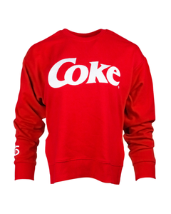 Coke Split Hem Women's Crew Fleece