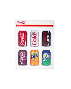 Coca-Cola Multi Brands Can Sticker Set