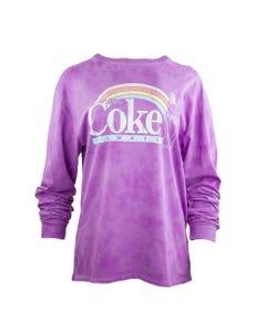 Coca-Cola Women's Rainbow LS Tee