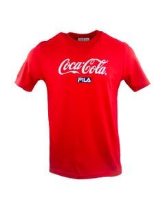 Coca-Cola X FILA Script Unisex Tee
