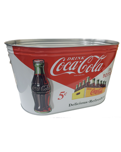 Coca-Cola Large Party Oval Tub