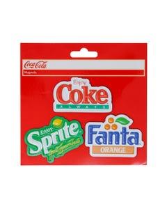 Coca-Cola Magnet Retro 3pk