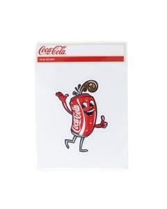 Coca-Cola Can Guy Sticker