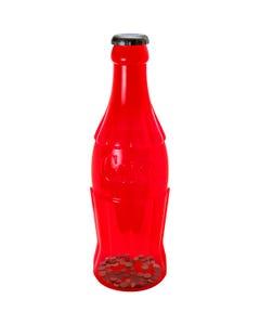 """Coca-Cola Red Contour Bottle Coin Bank - 22"""""""